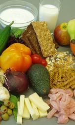 Pon alimentos con proteínas en tu dieta