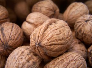 Las nueces son alimentos ricos en fósforo
